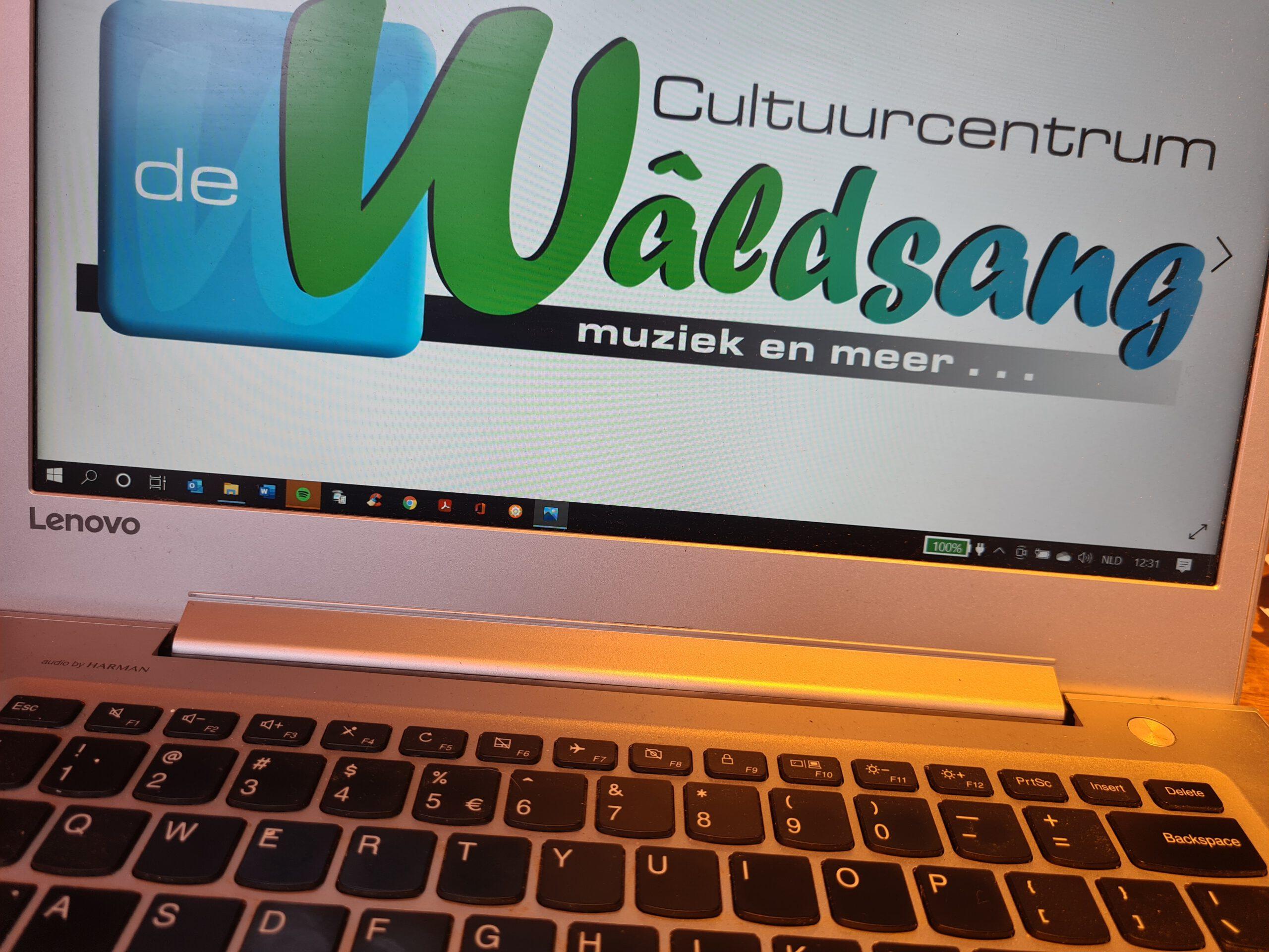 Klik Hieronder Voor Concertbezoek Digitaal Podium Wâldsang!